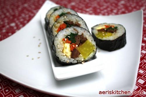 Beef Kimbap beef kimbap – aeri's kitchen