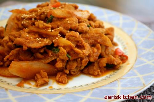 Spicy Pork BokkEumAeris Kitchen