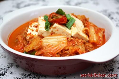 ... jjigae with tofu recette soupe kimchi kimchi kimchi jjigae kimchi stew