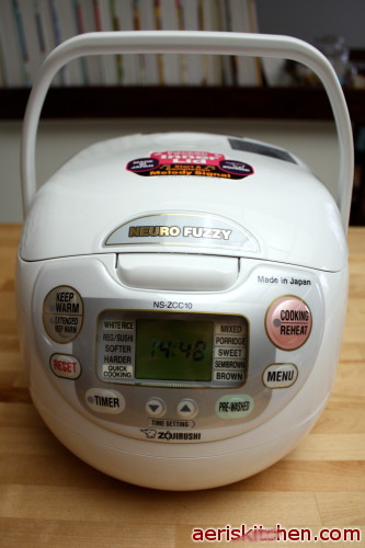 how to make good white rice in rice cooker