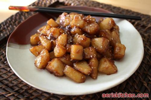 Shoyu potato recipes
