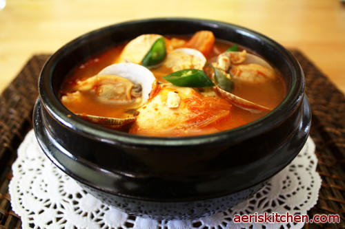 Soondubu Jjigae (Korean Soft Tofu Stew) Recipes — Dishmaps