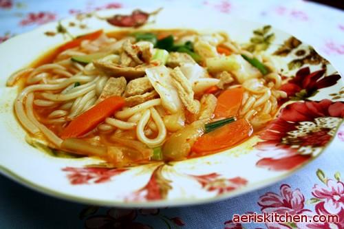 Korean chicken noodle soup - photo#21