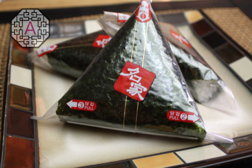 Image result for triangle kimbap