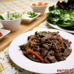 How to Eat (Wrap) Bulgogi