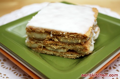 Pudding cake graham cracker recipe