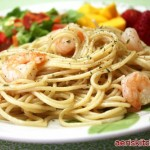 Shrimp & Garlic Spaghetti