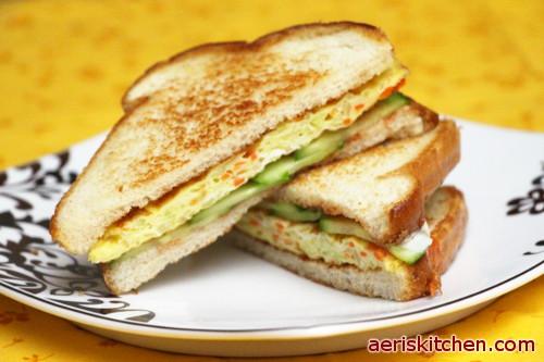 Korean Street Food Sandwich Bread