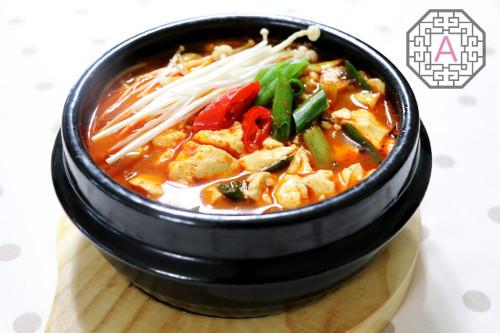 Vegetable Silken Tofu Jjigae